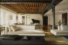 Christian Liaigre Chaise Lounge