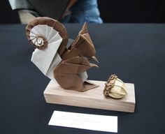 23th Origami Tanteidan Convention. Exhibition of Beth Johnson. by Lonely-Shiba
