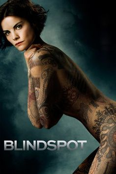 Blindspot parte de una atractiva mujer, sin recuerdos de su pasado, que aparece desnuda en Times Square cubriendo su cuerpo solamente de tatuajes intrincados