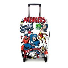 Avengers Captain America Luggage Cover – Etsyenvy Luggage Cover, Captain America, Suitcase, Avengers, The Avengers, Briefcase