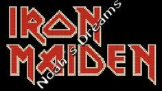 Long proyect Cross Stitch Pattern Iron Maiden by NoahsDreams