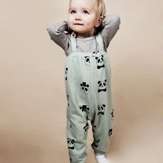 Mini Rodini Brace Trousers - Lovely and warm
