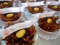 owl baby shower by BambinaMia, via Flickr