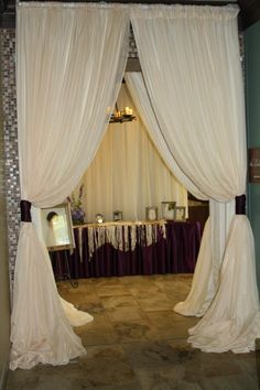 Pendley is a master at pipe and drape! It can transform any event!
