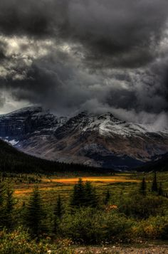 Storm Clouds, Banff, Alberta, Canada