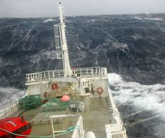 Scary seas...Wild weather while fishing for toothfish at Kerguelen Island
