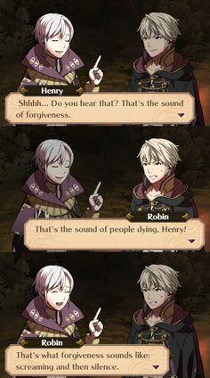 Robin - Henry - Fire emblem awakening - funny