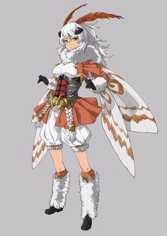 Character Design Girl, Character Design Animation, Character Design Inspiration, Character Concept, Character Art, Animated Cartoon Characters, Cute Characters, Anime Characters, Cute Moth