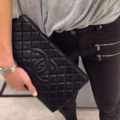 What girl doesn't love a good Chanel clutch?