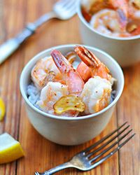 Sauteed Garlic Shrimp Recipe