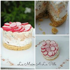 cheesecake aux rillettes de saumon