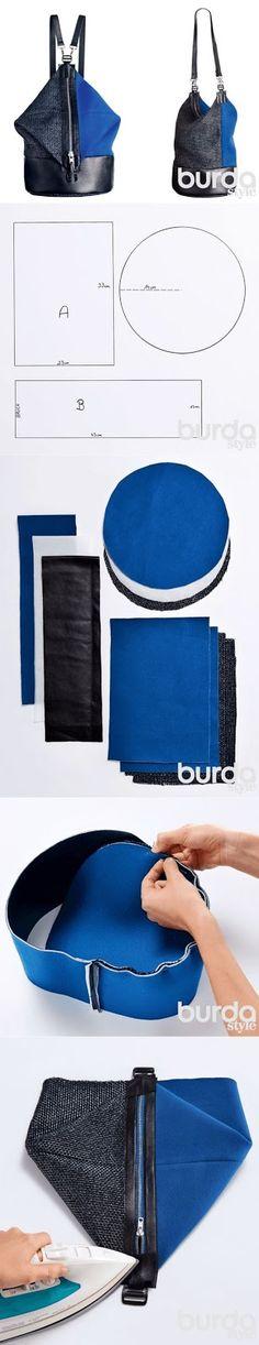 Partilhamos uma ideia que encontramos na revista Burda: a carteira duas versões. Apenas com a modificação da alça, conseguimos passar de um...