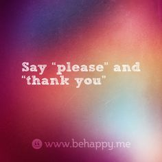 how to say please and thank you in french