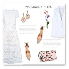"""""""Wardrobe Staples: Vest"""" by bliznec ❤ liked on Polyvore featuring Ted Baker, Bebe, Sigerson Morrison, Kate Spade and Kevin Jewelers"""