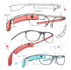 Google Glass was designed by sketching by hand says lead designer Isabelle Olsson