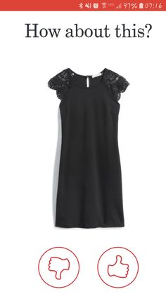 Super cute little black dress! I think this style would be flattering on me. Cute Dresses, Cute Outfits, Short Dresses, Stitch Fix Outfits, Cool Style, My Style, Stitch Fix Stylist, Playing Dress Up, Style Inspiration
