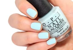 Opi fiji collection - suzi without a paddle perfectly polish Opi Gel Nail Colors, Blue Gel Nails, Opi Gel Nails, Spring Nail Colors, Gel Manicure, Manicures, Cute Nails, Pretty Nails, Nail Desighns