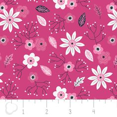 Alisse Courter - Paradise - Tossed Floral in Pink