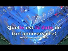 Dates, Months and Birthdays in French - YouTube