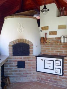 Masonry Oven, Outside Fireplace, Grill Oven, Pizza Oven Outdoor, Wood Fired Pizza, Creative Home, Outdoor Gardens, Outdoor Living, Sweet Home