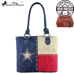Concealed Handgun Tote - Lone Star Collection - TX04G-8317