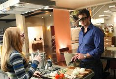 Rick Castle and his daughter Alexis (Nathan Fillion and Molly C. Quinn)