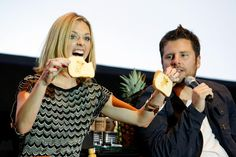 the adorable Maggie Lawson & James Roday from Psych :)