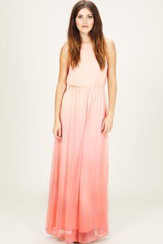 Sugarhill Boutique | Online Fashion Boutique for Women | Sherbet Dip Maxi Dress - Coral