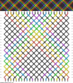 Learn to make your own colorful bracelets of threads or yarn. String Bracelet Patterns, Embroidery Floss Bracelets, Friendship Bracelet Patterns, Friendship Bracelets, Bracelet Crafts, Macrame Bracelets, Cellphone Wallpaper, Colorful Bracelets, Plaid Pattern