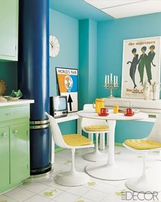 A Turquoise Kitchen