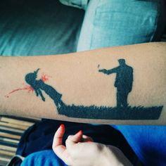 tattoo, tattoo ideas, love kills