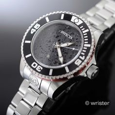Calling all watch lovers...check out the Invicta Pro Diver.... Get yours here: http://www.wrister.com/products/invicta-pro-diver-47mm-grand-gen-ii-ss-automatic-black-lava-rock-dial-watch?utm_campaign=social_autopilot&utm_source=pin&utm_medium=pin