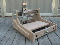 My Newest Desktop machine - Page 50 Router Table Plans, Cnc Router Plans, Diy Cnc Router, Cnc Router Machine, Machine Tools, Arduino Cnc, Routeur Cnc, Hobby Cnc, Hobby Desk