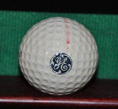 Vintage General Electric Logo golf ball. Wilson ProStaff