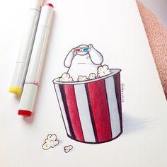 Popcorn by DeeeSkye on DeviantArt