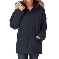 Carhartt Coats - Carhartt X' Anchorage Parka Coat - Navy / Black