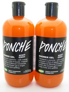 Lush Ponche Shower Gel. This thing is amazing, I kind of want the huge bottle.