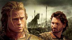 Περιπέτεια αμερικανικής παραγωγής 2004 Έτος 1250 π.Χ. Ο  Πάρις , γιος του  Πριάμου , βασιλιά της  Τροίας , πείθει την  Ελένη , να εγκαταλείψει τον σύζυγό της και βασιλιά της  Σπάρτης Μενέλαο  και να τον ακολουθήσει στην...