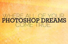 PHOTOSHOP-DREAMS-alex-beadon    A bunch of Photoshop actions