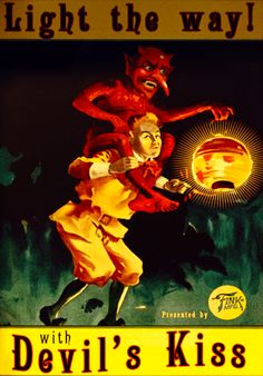 Columbian advertisement for the Devil's Kiss vigor. From Bioshock Infinite.