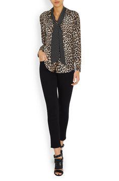 Shop   Kate Moss x Equipment blouse