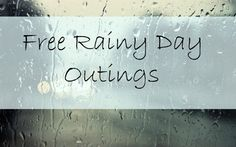 Free Rainy Day Outings (or Snowy Day Outings!) -- free places to go with kids when the weather outside is frightful Rainy Day Activities, Indoor Activities For Kids, Spring Activities, Crafts For Kids, Preschool Ideas, Rainy Day Fun, Snowy Day, Summer Kids, Minimalist Photography