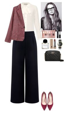 """""""Outfit TOMTOP"""" by eliza-redkina ❤ liked on Polyvore featuring Gucci, Être Cécile, Zara, Maybelline, Christian Dior, Byredo, Marc Jacobs, StreetStyle, outfit and like"""