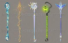 Staff designs 35 by Rittik-Designs