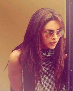 Deepika Padukone layered hair