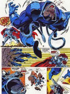 Apocalypse vs Stryfe, X-Men: X-Cutioner Song, Marvel Comics Marvel Comic Universe, Marvel Comics Art, Comics Universe, Best Comic Books, Comic Books Art, Comic Art, Book Art, Best Villains, Marvel Villains