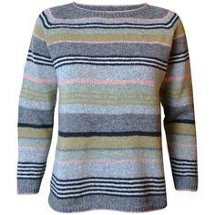 Strikkeopskrift på Gavstrik - lyserød. Klassisk bluse i A-facon der er anvendelig hele året. Strikkes i Supersoft, Tvinni eller tilsvarende kvalitet. Løbelængde