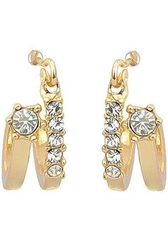 LUCLUC Layered Crystals Earrings - LUCLUC