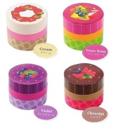 Washi tape for crafts via etsy