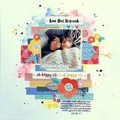 Scrapbooking Layouts, Scrapbook Pages, Amy Tan, American Crafts, Happy Life, Sketches, In This Moment, Gallery, Inspiration